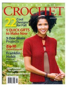 Interweave Crochet Fall 2009 - 紫苏 - 紫苏的博客