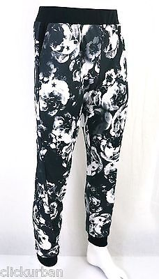 KAYDEN-K-sublimation-print-mens-jogger-pants-Stars-on-Flowers-S-XL