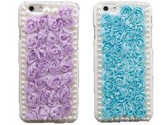 #3D #Flower + #Lace iPhone 6 and iPhone 6 Plus Cases - Fashion9shop.com