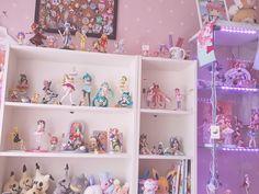 Pastel Room, Pink Room, Cute Bedroom Decor, Room Ideas Bedroom, Kawaii Bedroom, Cute Room Ideas, Gaming Room Setup, Game Room Design, Gamer Room