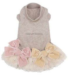Playful Organic Dog Dress - the Perfect dog outfit for Your Small Pup