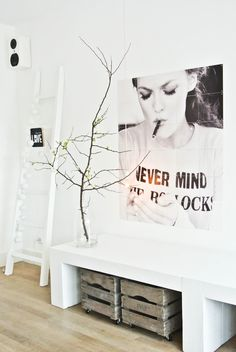 We LOVE this Vanessa Paradis IXXI of blogger LekkerFris. Find more inspiration on: http://www.ixxidesign.com/blog  #IXXI #ixxidesign #blackandwhite #icon #vanessaparadis #art #design #home #decoration #interior #livingroom #Scandinavian