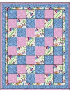 quilt patterns with 3 fabrics - Google Search