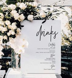 Simple Home Decoration Ideas Minimalist Gold Drinks Sign Printable Wedding Bar Sign Wedding Drink Menu, Wedding Signage, Wedding Day, Wedding Bar Signs, Wedding Favors, Diy Wedding, Wedding Reception, Wedding Flowers, Destination Wedding Decor