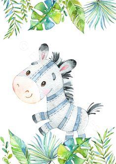Baby Animal Nursery, Safari Nursery, Nursery Prints, Nursery Wall Art, Paintings For Nursery, Jungle Animals, Baby Animals, Animal Posters, Animal Prints