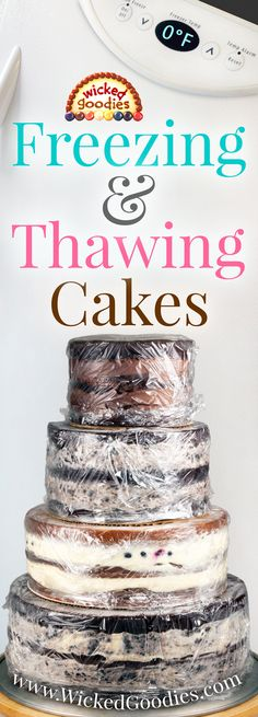 How to Freeze and Defrost Cakes cake decorating recipes kuchen kindergeburtstag cakes ideas Baking Tips, Baking Recipes, Cake Recipes, Dessert Recipes, Baking Pan, Baking Secrets, Bread Baking, Cake Decorating Techniques, Cake Decorating Tips