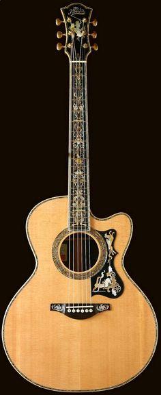 Acoustic Guitar - Takeshi Kosaka the Kosaka ~ www.pinterest.com...
