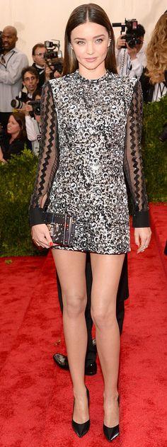 Miranda Kerr in Louis Vuitton - Met Ball 2015