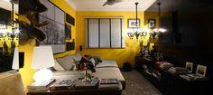 Decoração em tons de amarelo - Revista Casa Linda