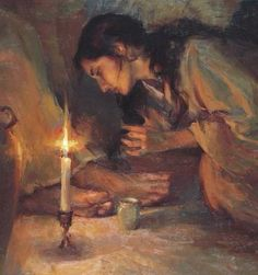 """""""Forgiven"""" by Daniel Gerhartz. From my home page of LDSWomenConverse.com"""