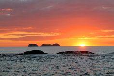 Sunset over the Pacific Ocean at Playa Tamarindo. #costarica #entrepreneur #travel #socialimpact