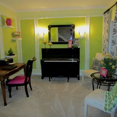 David bromstad inspired music room