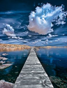 ~~Kristevik ~ boardwalk, Bohuslän, a province in Götaland Sweden by Filip Nystedt~~