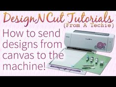 Here's how to upload a design from your browser using ScanNCut Canvas and Brother ScanNCut manager Windows desktop application. Enable captions for word desc. Brother Images, Scan N Cut, Brother Scan And Cut, Craft Projects, Die Cutting, Cricut, Canvas, Dream Machine, Vinyls