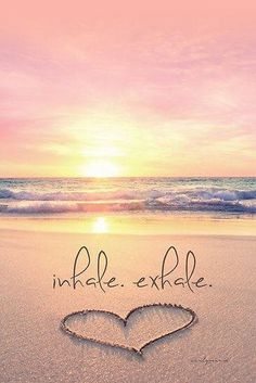 It's a NEW DAY! Inhale positivity, happiness and light. Exhale stress, sadness and fear. Feed your soul with good thoughts and let everything else . go ☀️ Just breathe. I Love The Beach, Beautiful Beach, Beautiful Pictures, Inspiring Pictures, Romantic Beach, Sunny Beach, All Nature, Am Meer, Belle Photo