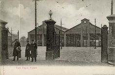 Fulwell Depot, Twickenham - Before the Trolleybuses moved in. College Books, Victorian Buildings, North East England, Sunderland, Book Projects, Local History, Historical Pictures, Durham, Newcastle