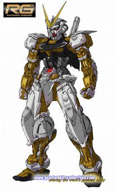 P-Bandai: RG 1/144 Gundam Astray Gold Frame - Release Info - Gundam Kits Collection News and Reviews