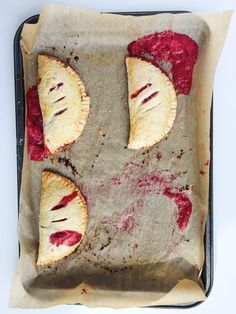 Tart rhubarb, bright citrus, vanilla bean, and fresh strawberries and raspberries compose this delectable all-butter crust hand pie. Vanilla Bean, Red Berry + Rhubarb Hand Pies!