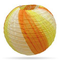 Meerkleurige lampion geel-oranje, ideaal te combineren met onze lampionnen wit en oranje van 35 cm. http://www.candlebagplaza.nl/c-3701057/lampionnen-35-cm-meerkleurig/