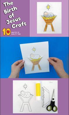 The birth of Jesus Craft