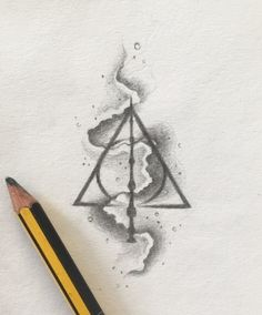 Deathly Hallows tattoo design ✨