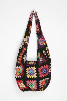 Crocheted Hobo Bag