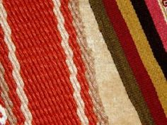 Patterns in backstrap loom weaving