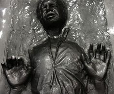 """""""The very Best in Movie Merchandise"""" Han Solo in Carbonite by San Diego Shooter, via Flickr"""