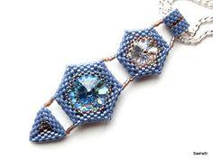 art, crafts and beads: HEXed RIVOLI Tutorial on Etsy 14 MM RIVOLI