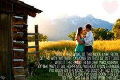 """In Love With The Girl"" -Luke Bryan"