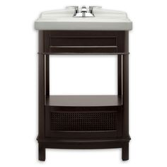 Portsmouth 24 Inch Washstand Shown In 322 American Standard $900 msrp +200 sink; or $672 stand and sink on Wayfair