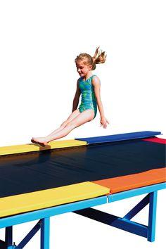 Recreational Tumbl Trak™ - recreational preschool gymnasts - Tumbl Trak - Gymnastics, Cheerleading and Dance Equipment