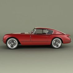 chevrolet corvette corvair concept car 3d model - Chevrolet Corvette Corvair Concept by desmonster