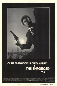 """The Enforcer is a 1976 American film, and the third in the Dirty Harry film series. Directed by James Fargo, it stars Clint Eastwood as Inspector """"Dirty"""" Harry Callahan, Tyne Daly as Inspector Kate Moore and DeVeren Bookwalter as terrorist leader/main antagonist Bobby Maxwell."""