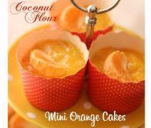 Coconut Flour Mini Orange Cakes {Thermomix}