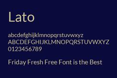Friday Fresh Free Fonts 86