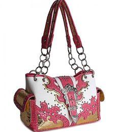 Pink Western Buckle Cowgirl Style Purse Handbags, Bling & More! http://www.amazon.com/dp/B00KTKW7FM/ref=cm_sw_r_pi_dp_-pBGwb1WYJPZ0