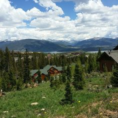 View from the top of Buffalo Mountain (at least as high as my scooter,  #buffalomountain #colorado #dillon #silverthorne #skisilverthorne