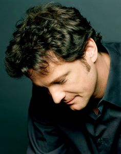 I like this picture of Colin Firth. You feel like you're having an intimate conversation with him.
