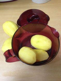 Cuisson des pommes de terre/pichet microplus - Tupperware