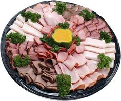 How to Roll Cold Cuts for a Platter