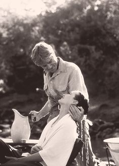 Robert Redford & Meryl Streep (Out of Africa, 1985) My first taste of romance, watching Robert & Meryl together, watched this in 1991.