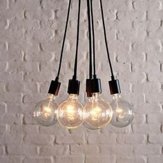 I know, I know, it's a bunch of bulbs hanging on wires, but I love it and I want it for my dining room.