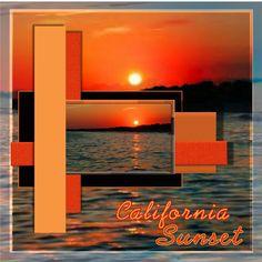 California Sunset | Digital Scrapbooking at Scrapbook Flair