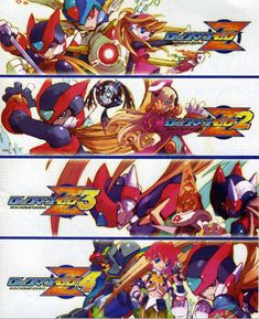 Megaman Zero by khaosmon on DeviantArt