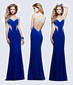 New Arrivals A-line Floor-length Evening Dresses