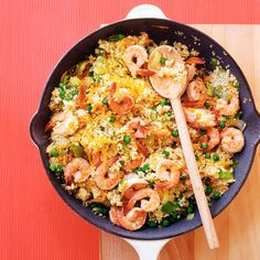 This one-pot wonder that takes its inspiration from paella will impress friends and family and satisfy even the hungriest diners.