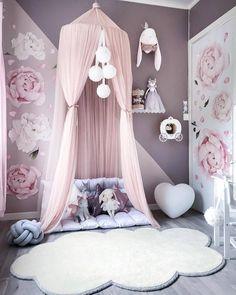 Image may contain: indoor Baby Bedroom, Baby Room Decor, Nursery Room, Girls Bedroom, Bedroom Decor, Nursery Ideas, White Nursery, Bedroom Ideas, Ideas Dormitorios