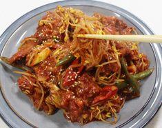 끝내주는 맛!! 만물상 이보은 황태콩나물찜 만들기 Korean Dishes, Korean Food, Kimchi, Food Items, Japchae, Home Recipes, Recipies, Beef, Asian