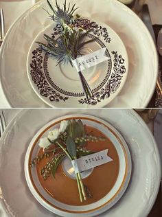 Simple nature wedding place settings 44 ideas for 2019 Montana Wedding, Wedding Place Settings, 100 Layer Cake, Wedding Company, Wedding Places, Wedding Stuff, Place Names, Bunch Of Flowers, Diy Wedding